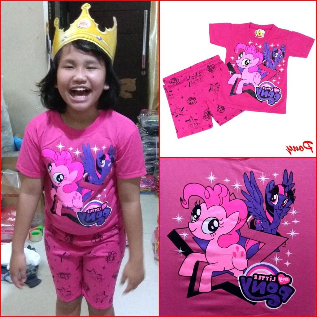 Ide Baju Lebaran Anak Perempuan Umur 10 Tahun U3dh Pony 0 10 Tahun Maruno Setelan Baju Anak Pakaian Anak