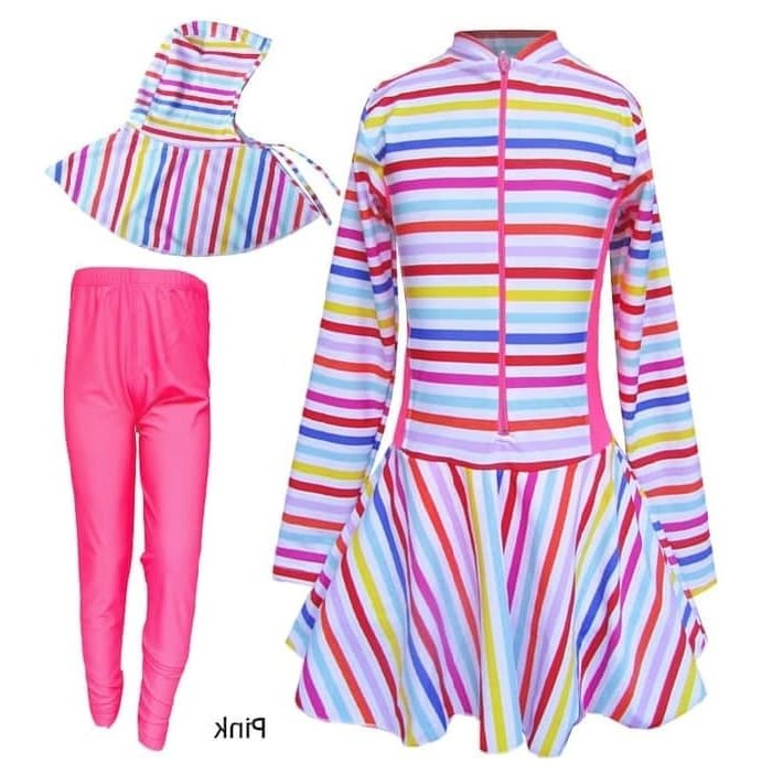 Ide Baju Lebaran Anak Perempuan Umur 9 Tahun Drdp Jual Baju Renang Anak Perempuan Muslim Bram M166sd 8 9