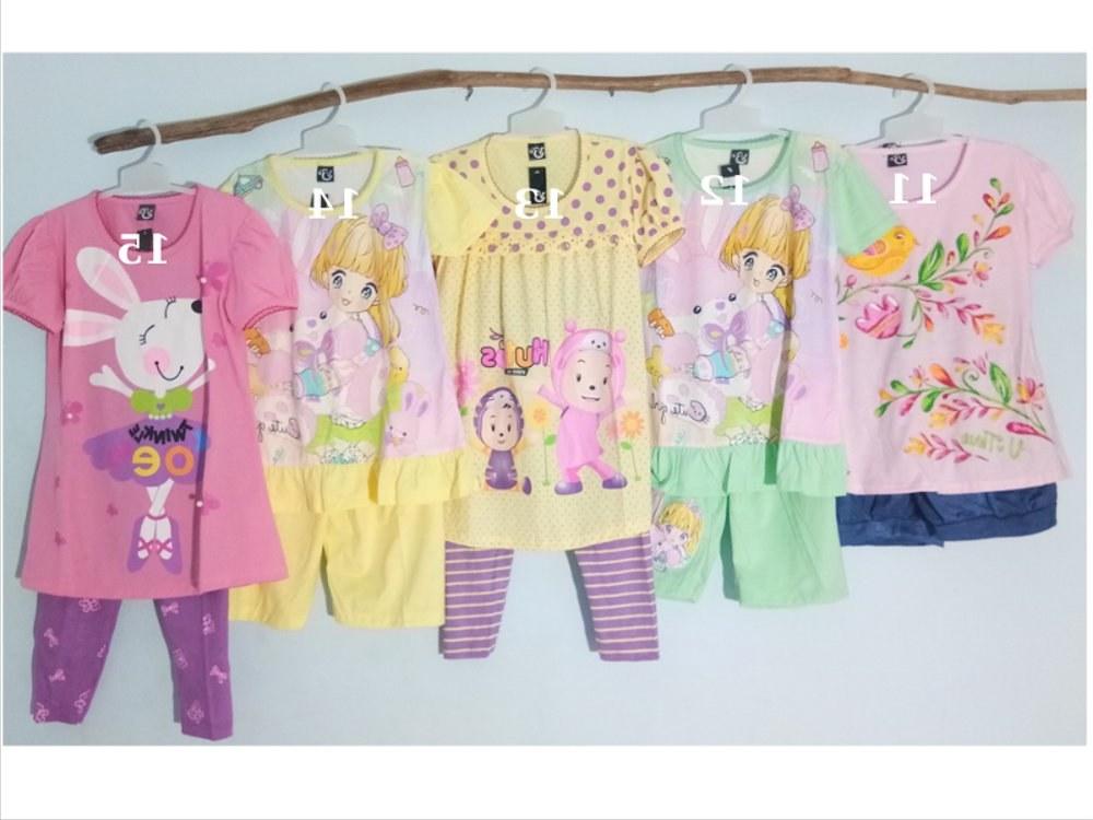 Ide Baju Lebaran Anak Usia 10 Tahun 0gdr Jual V3 10 Part 1 Setelan Baju Anak Perempuan Usia 7 8