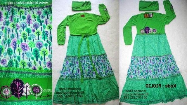Ide Baju Lebaran Anak Usia 10 Tahun 8ydm Baju Muslim Anak Cewek P10l20 Size 10 Anak Cewek Untuk