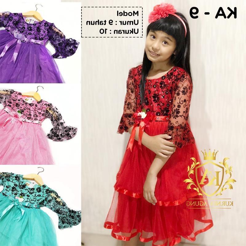 Ide Baju Lebaran Anak Usia 10 Tahun Irdz Baju Gamis Gaun Pesta Anak Perempuan Umur 10 Tahun Pusat