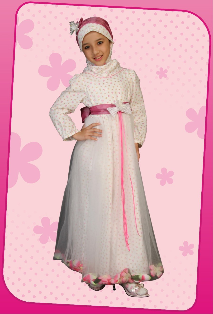 Ide Baju Lebaran Bayi Perempuan 9fdy Trend Busana Muslim Anak Perempuan 2016 Busana Muslim Terbaru
