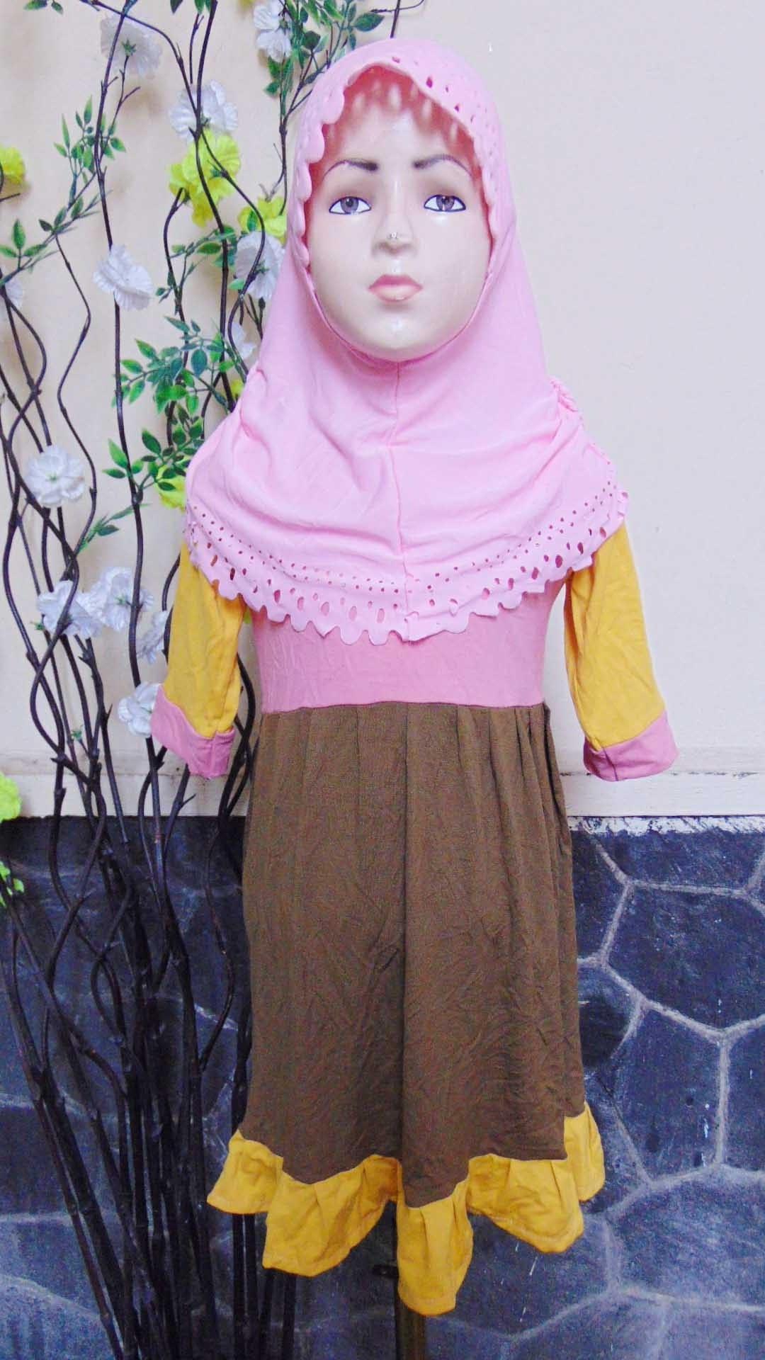 Ide Baju Lebaran Bayi Perempuan Dwdk Plus Jilbab Baju Lebaran Muslimah Gamis Bayi Perempuan