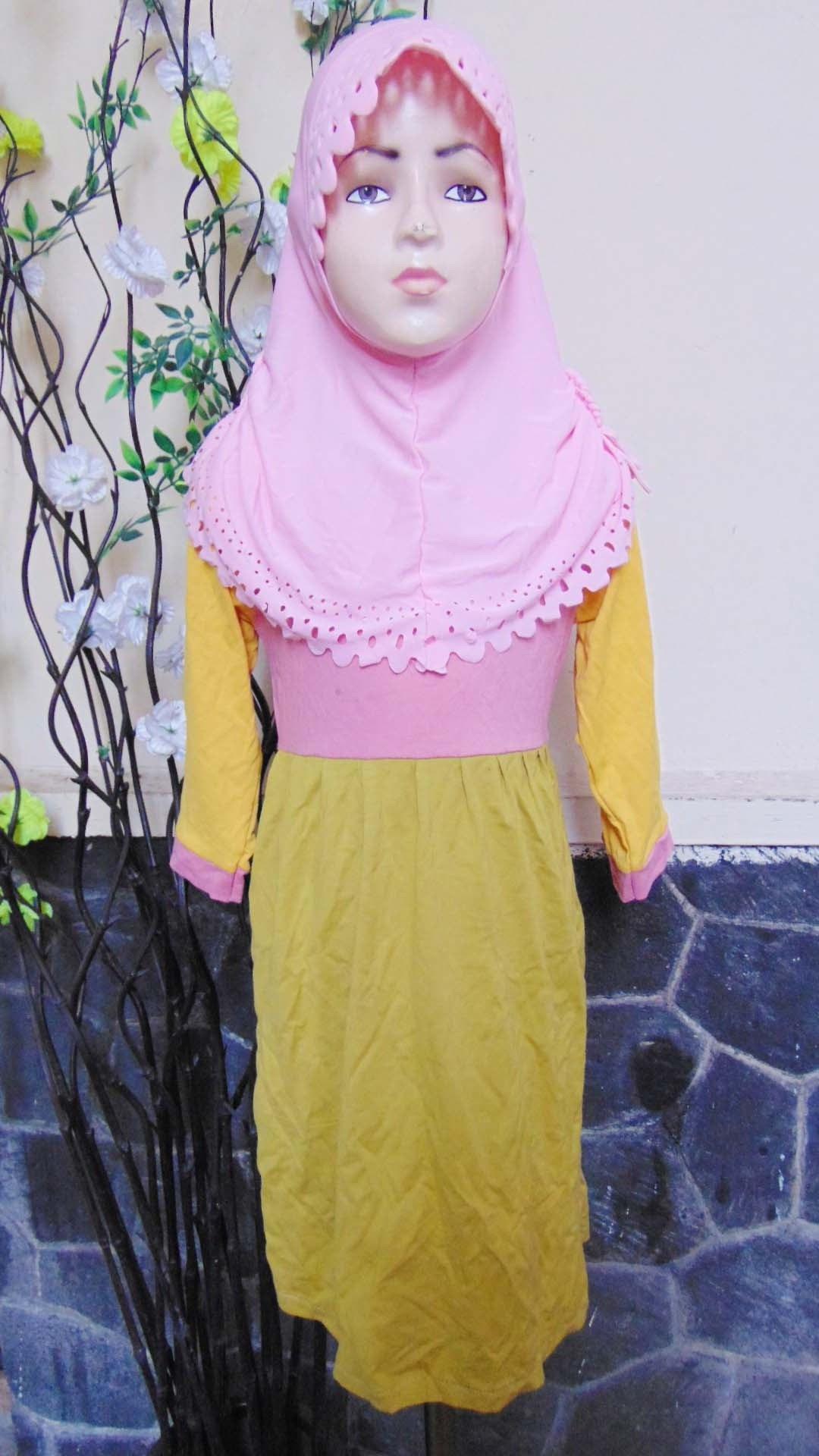 Ide Baju Lebaran Bayi Perempuan Ipdd Plus Jilbab Baju Lebaran Muslimah Gamis Bayi Perempuan