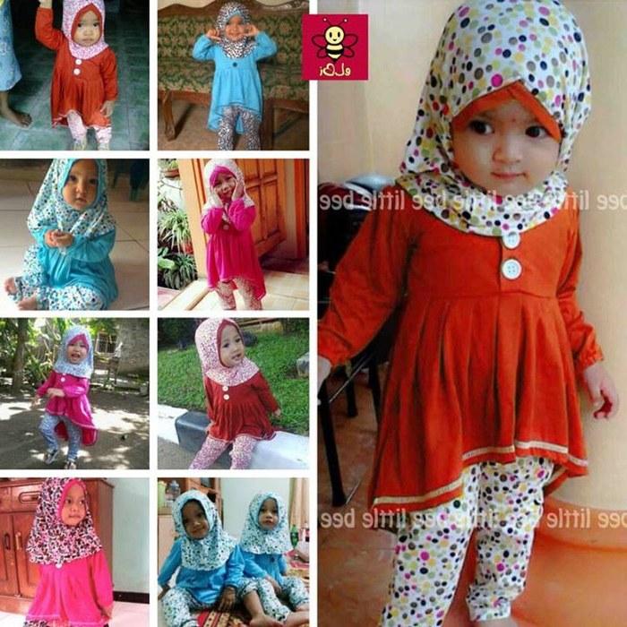 Ide Baju Lebaran Bayi Perempuan Thdr Jual Busana Muslim I Baju Muslim Bayi Perempuan I Pakaian