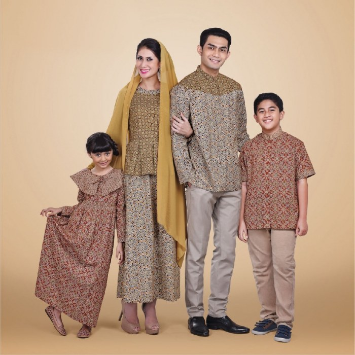 Ide Baju Lebaran Buat Keluarga Rldj Model Baju Batik Sarimbit Modern Untuk Pasangan Couple