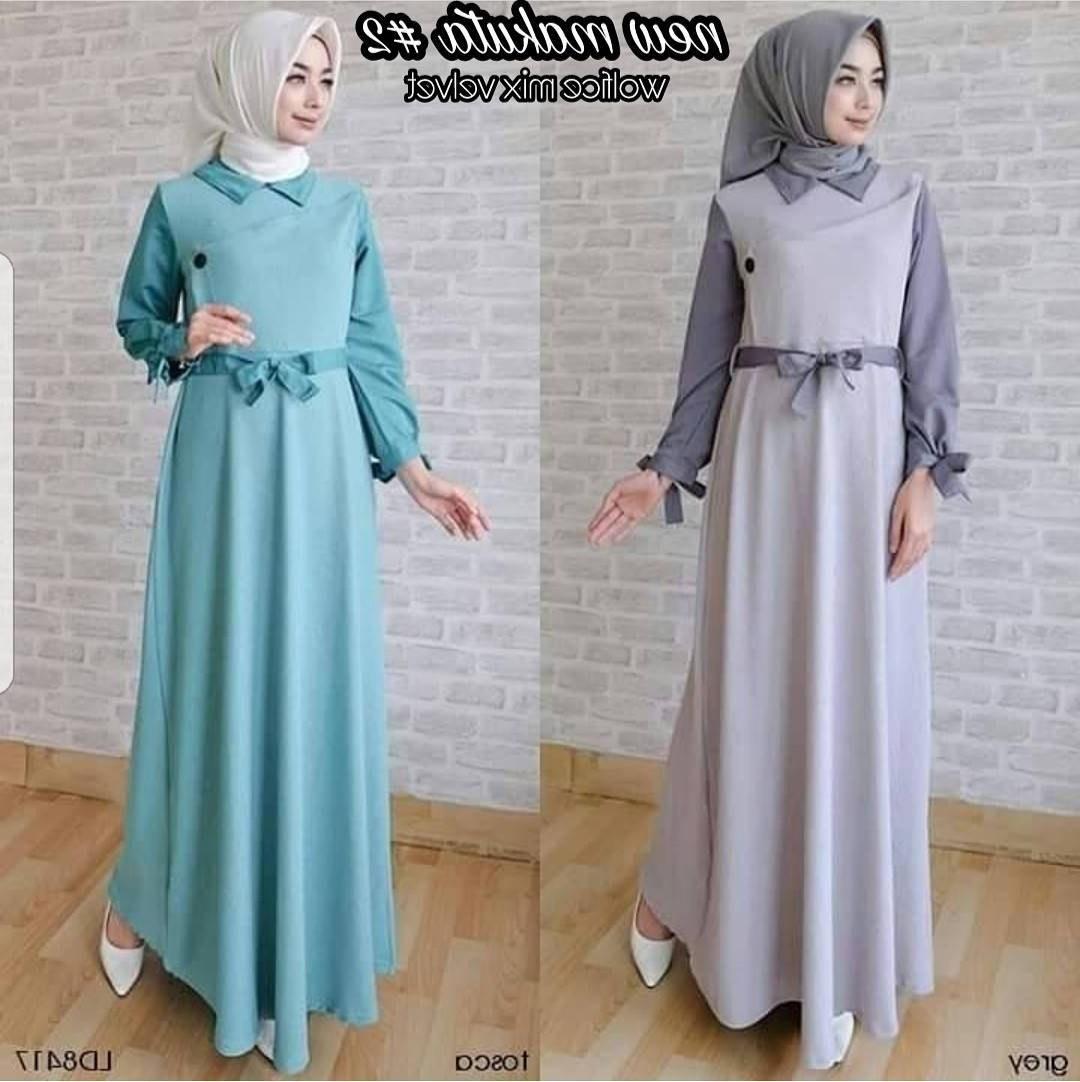 Ide Baju Lebaran Bumil Tqd3 Jual Baju Muslim Lebaran Modern New Makuta 2 Muslimodis