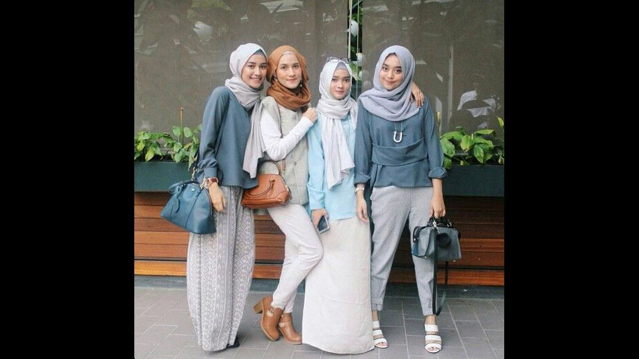 Ide Baju Lebaran Casual Ffdn Baju Muslim Lebaran Casual Untuk Remaja