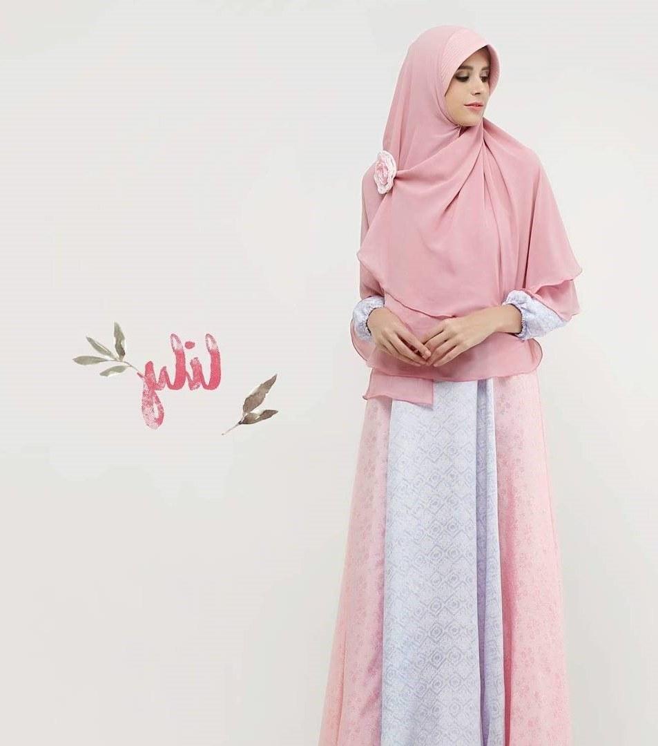 Ide Baju Lebaran Casual Y7du 20 Trend Model Baju Muslim Lebaran 2018 Casual Simple Dan
