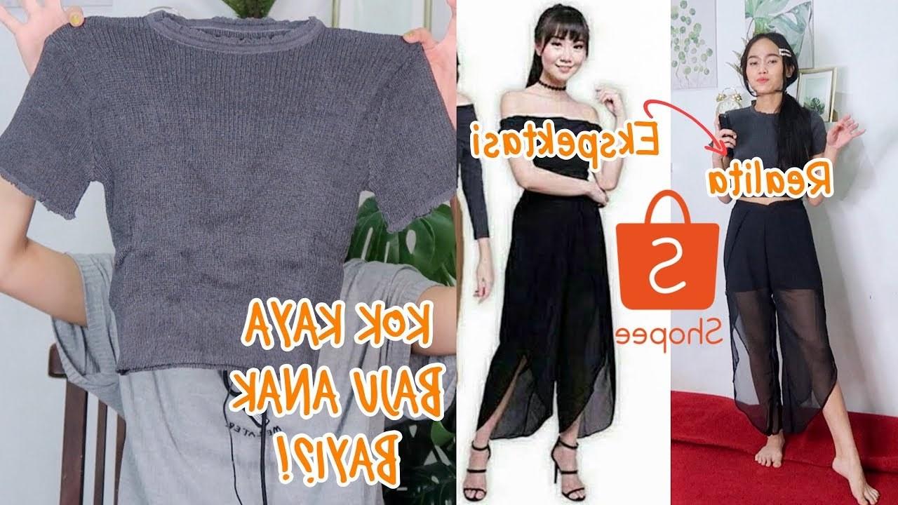 Ide Baju Lebaran Di Shopee T8dj Belanja Baju Celana Harga 30rb An Di Shopee Eps 12