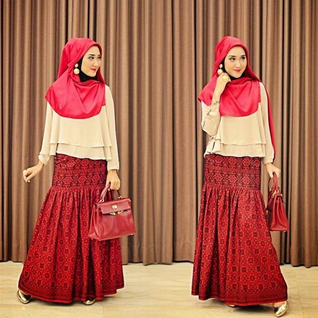Ide Baju Lebaran Dian Pelangi Irdz Hijab Boutique by Kiky Vinola Busana Muslim Dian Pelangi