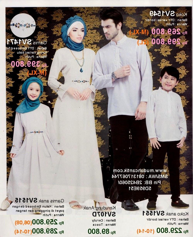 Ide Baju Lebaran Keluarga Tanah Abang Q0d4 Baju Muslim Couple Keluarga Tanah Abang Di 2020