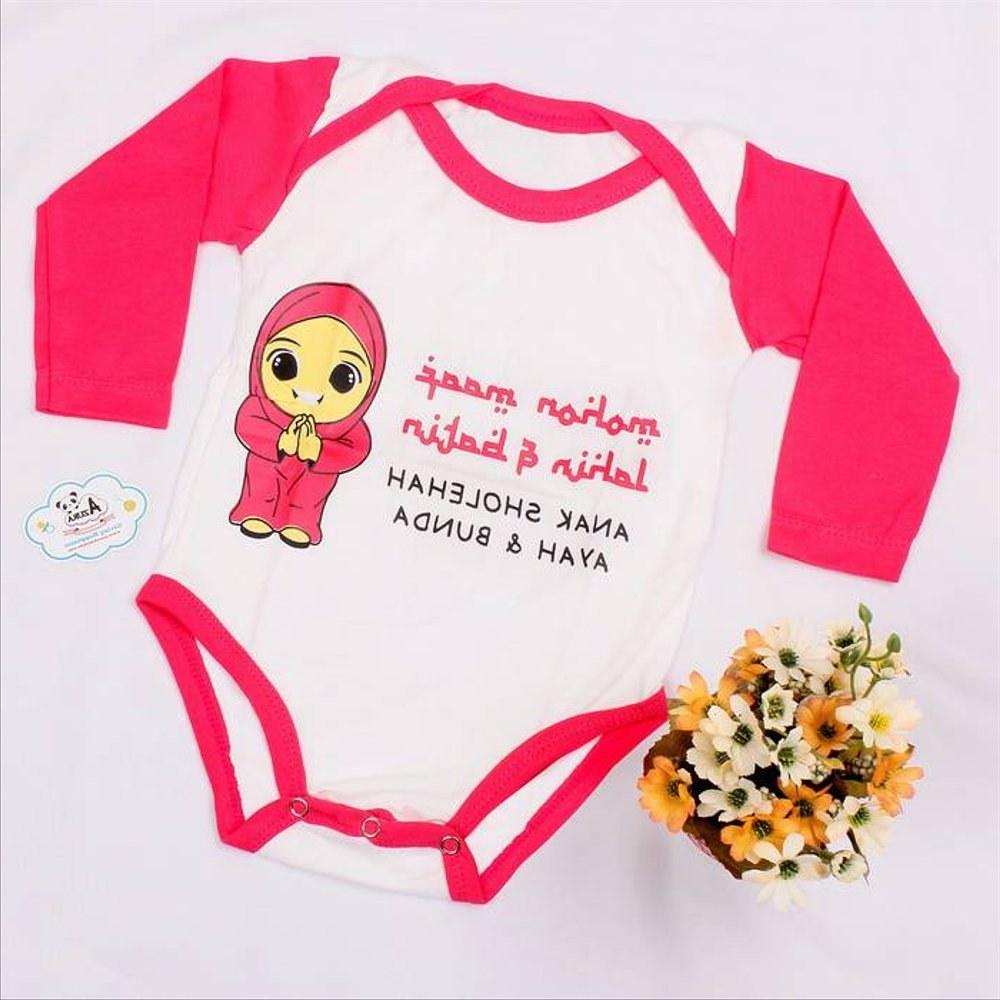 Ide Baju Lebaran Lucu U3dh Jual Baju Bayi Lebaran Jumper Perempuan Di Lapak Azura