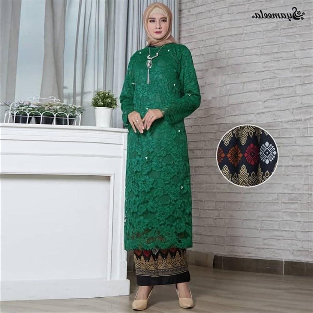 Ide Baju Lebaran Modern 3id6 Jual Premium Baju Muslim Dress Pesta Baju Kurung Modern