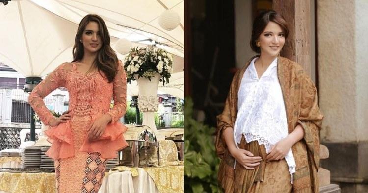 Ide Baju Lebaran Nia Ramadhani Tldn 7 Pesona Nia Ramadhani Saat Pakai Kebaya Cantiknya Bikin
