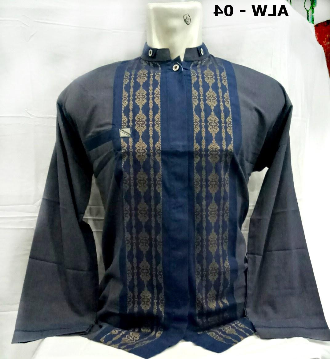 Ide Baju Lebaran Pria Keren Kvdd Gambar Baju Muslim Pria Baju Koko Lengan Panjang Model