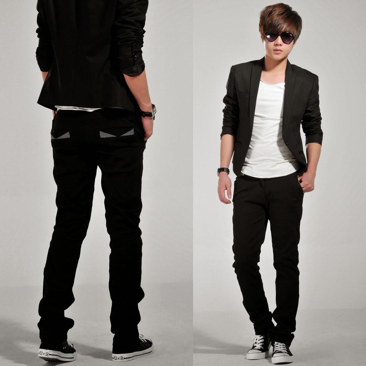 Ide Baju Lebaran Pria Terbaru Drdp 5 Model Baju Santai Korea Pria Terbaru