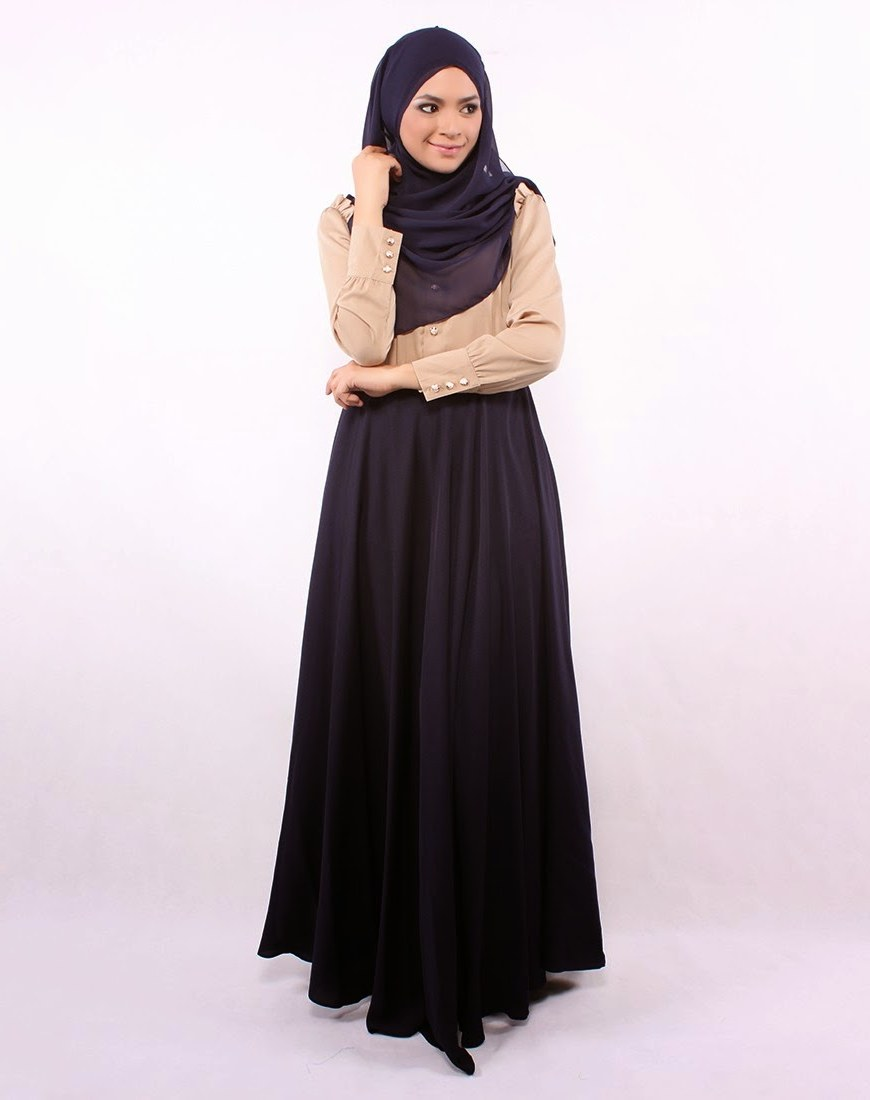 Ide Baju Lebaran Sekarang Etdg 25 Contoh Model Baju Muslim Lebaran Idul Fitri Kumpulan