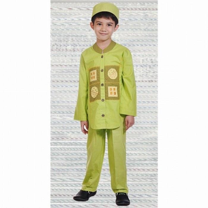 Ide Baju Lebaran Untuk Laki Laki Zwdg 19 Model Baju Muslim Anak Laki Laki Modern