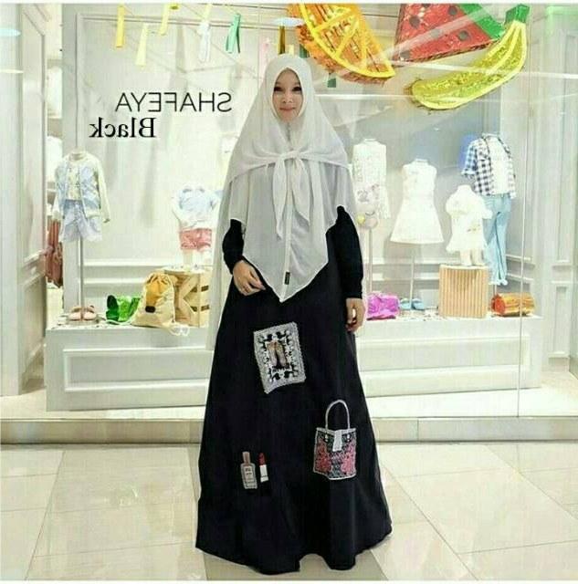 Ide Baju Lebaran Untuk orang Tua 0gdr 30 Model Gamis Muslim Untuk orang Tua Fashion Modern