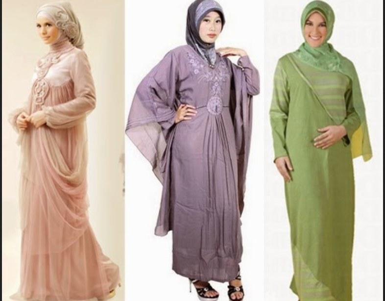 Ide Baju Lebaran Untuk orang Tua Q0d4 11 Model Baju Gamis Untuk orang Gemuk Pendek