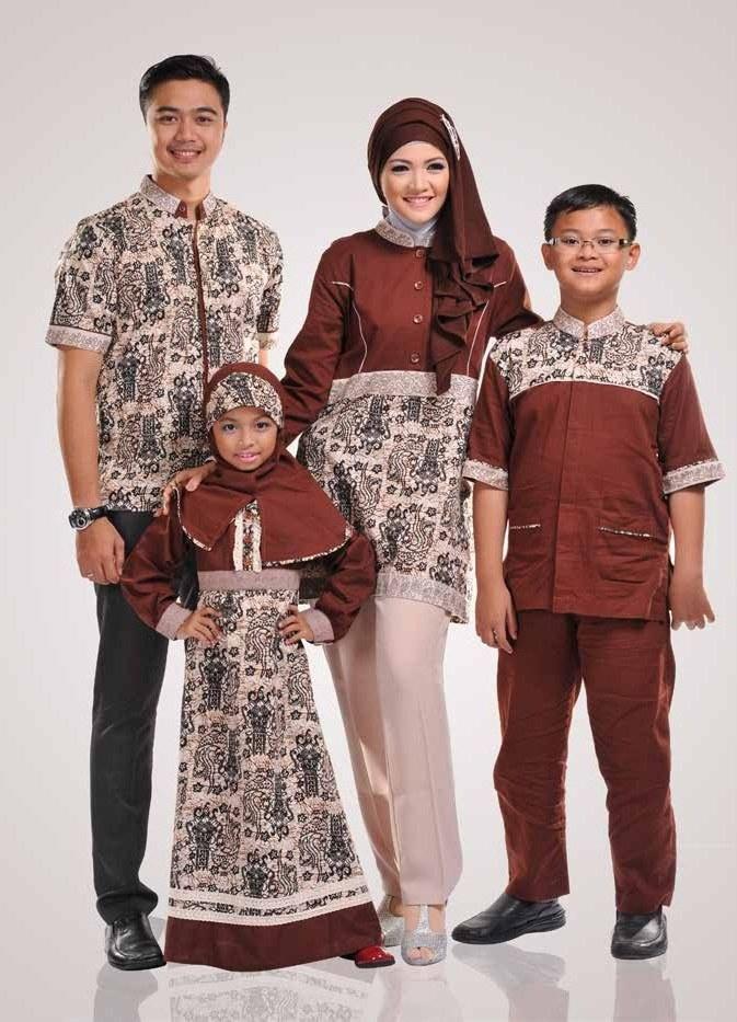 Ide Baju Lebaran Untuk Sekeluarga Tldn 10 Model Baju Muslim Sekeluarga Couple Modern Terbaru 2017