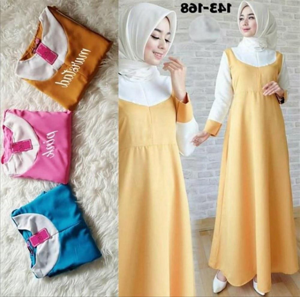 Ide Baju Lebaran Untuk Wanita Gdd0 Jual Baju butik Hijab Panjang atasan Blouse Gamis Bunga