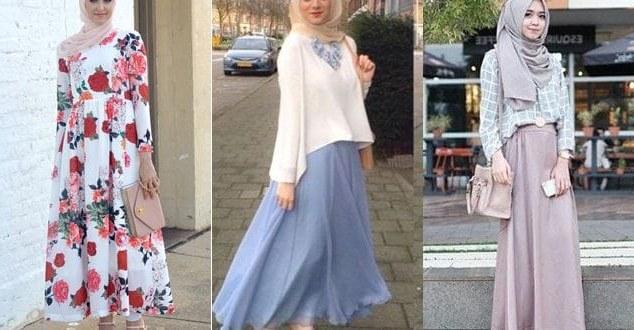 Ide Baju Lebaran Untuk Wanita Mndw Baju Lebaran Model Terbaru Untuk Remaja Muslimah 2019