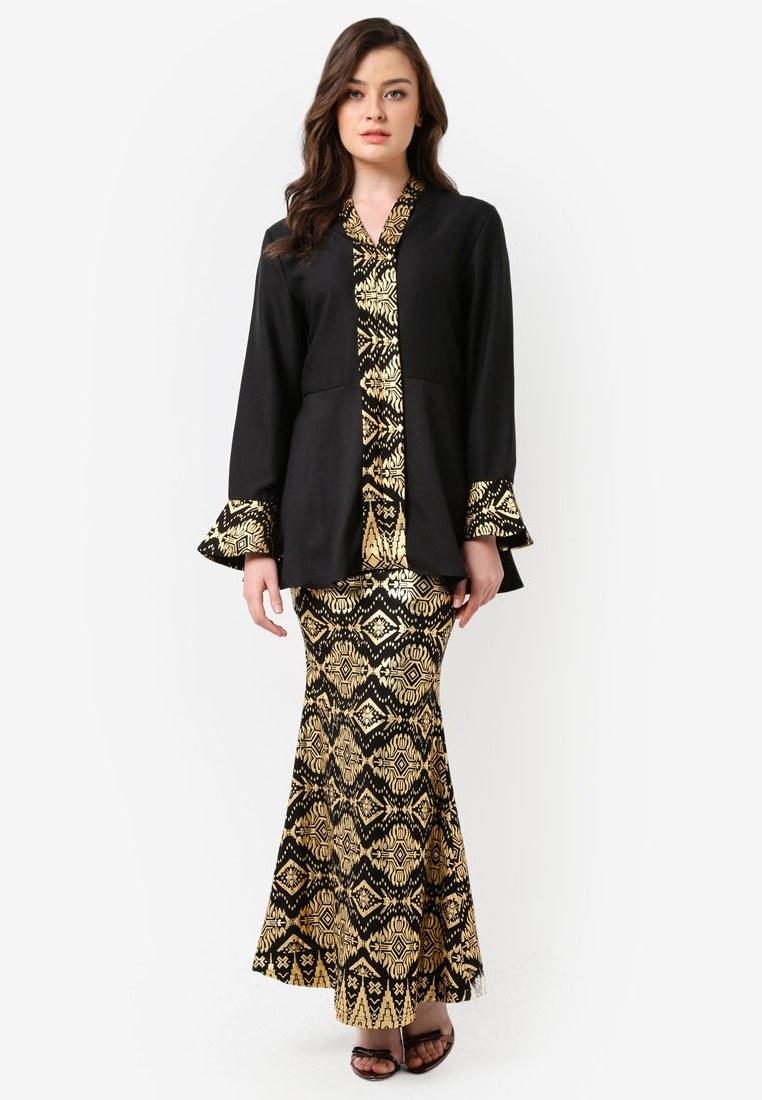 Ide Fashion Baju Lebaran 2018 Kvdd Design Terbaru Baju Kurung Popular Terkini 2018