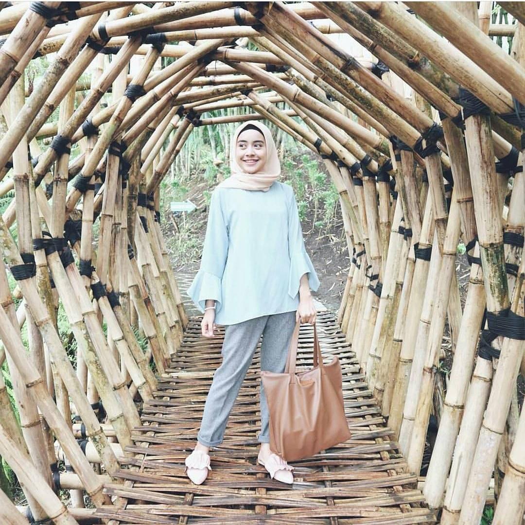 Ide Fashion Muslim Remaja 0gdr 17 Koleksi Fashion Baju Hijab Remaja 2018 Gaya Masa Kini