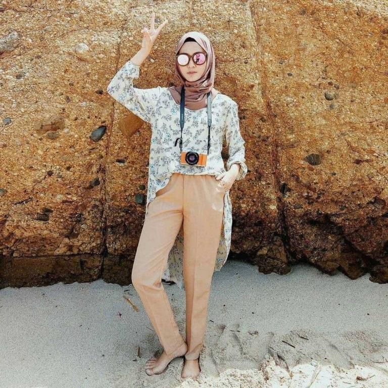 Ide Fashion Muslim Remaja 3id6 Fashion Hijab Remaja Terbaru 2018 Gaya Masa Kini Teman