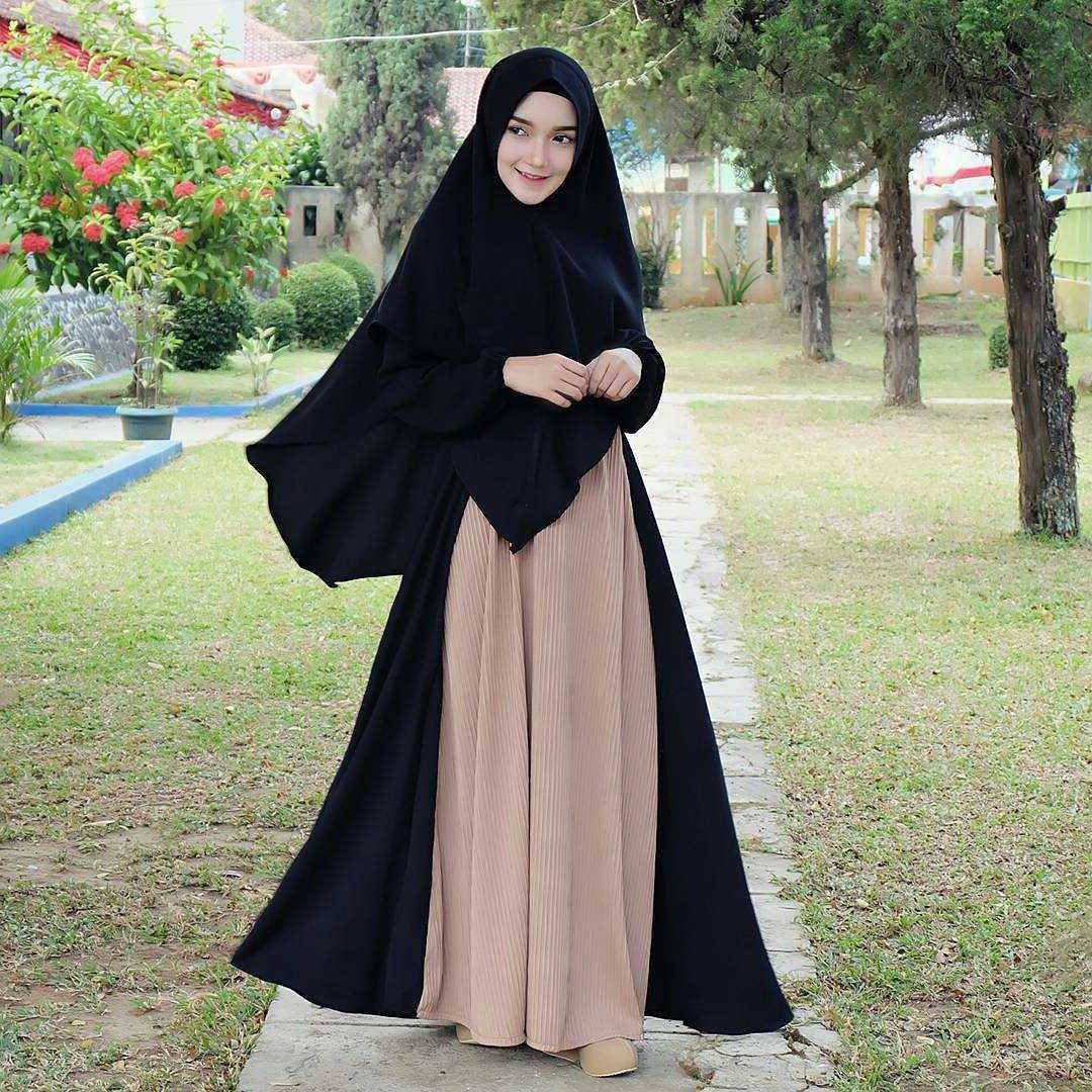 Ide Fashion Muslim Remaja 4pde 18 Model Baju Muslim Modern 2018 Desain Casual Simple & Modis