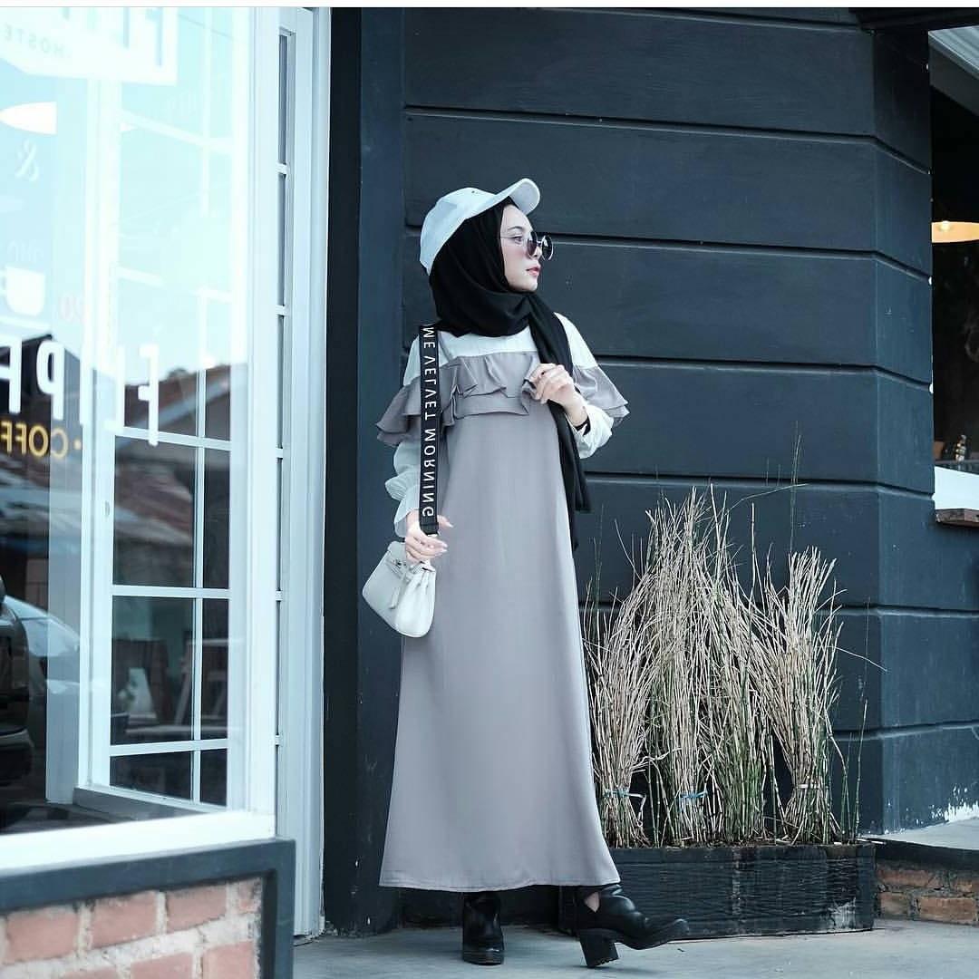 Ide Fashion Muslim Remaja Budm 17 Koleksi Fashion Baju Hijab Remaja 2018 Gaya Masa Kini