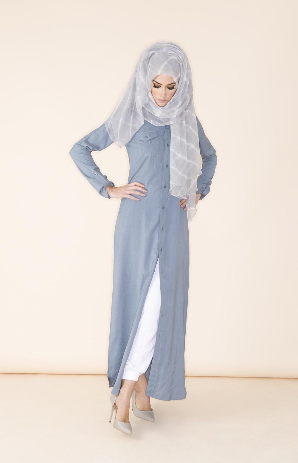 Ide Fashion Muslim Terbaru 0gdr 10 Contoh Model Baju Muslim Terbaru 2018