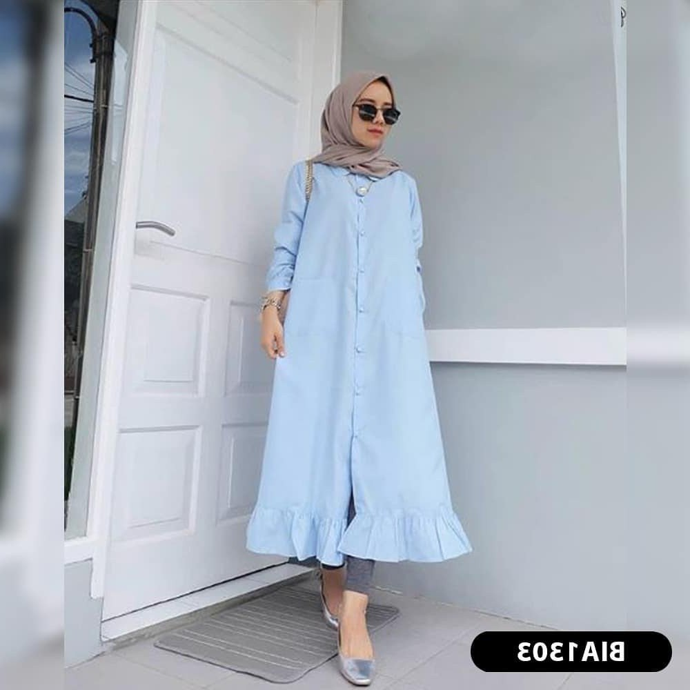 Ide Fashion Muslim Terbaru Gdd0 Jual Baju Muslim Kekinian Baju Muslim Terbaru 2018 Fashion