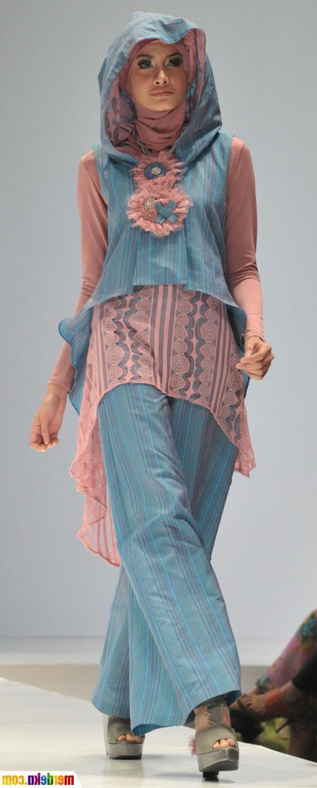 Ide Fashion Muslim Terbaru Rldj Berita Terbaru Fashion Show Busana Muslim