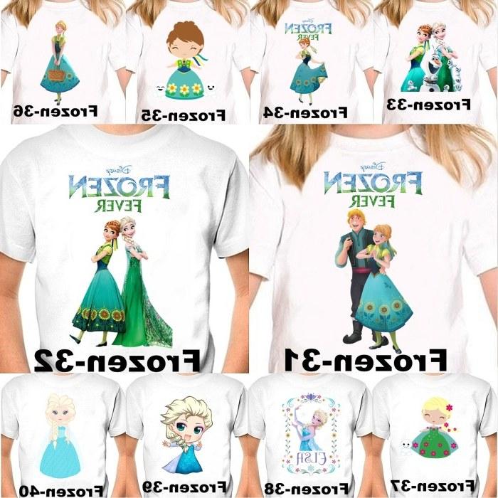 Ide Kaos Tulisan Baju Lebaran 9fdy Jual Kaos Baju Frozen 31 40 Anak Free Tulisan Nama