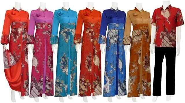Ide Kata Baju Lebaran Nkde Foto Baju Muslim Batik Model Terbaru