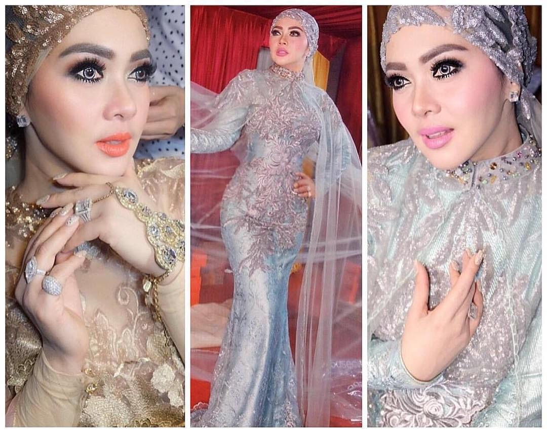 Ide Model Baju Lebaran Artis Etdg 10 Model Baju Lebaran Syahrini Glamour Dan Elegan
