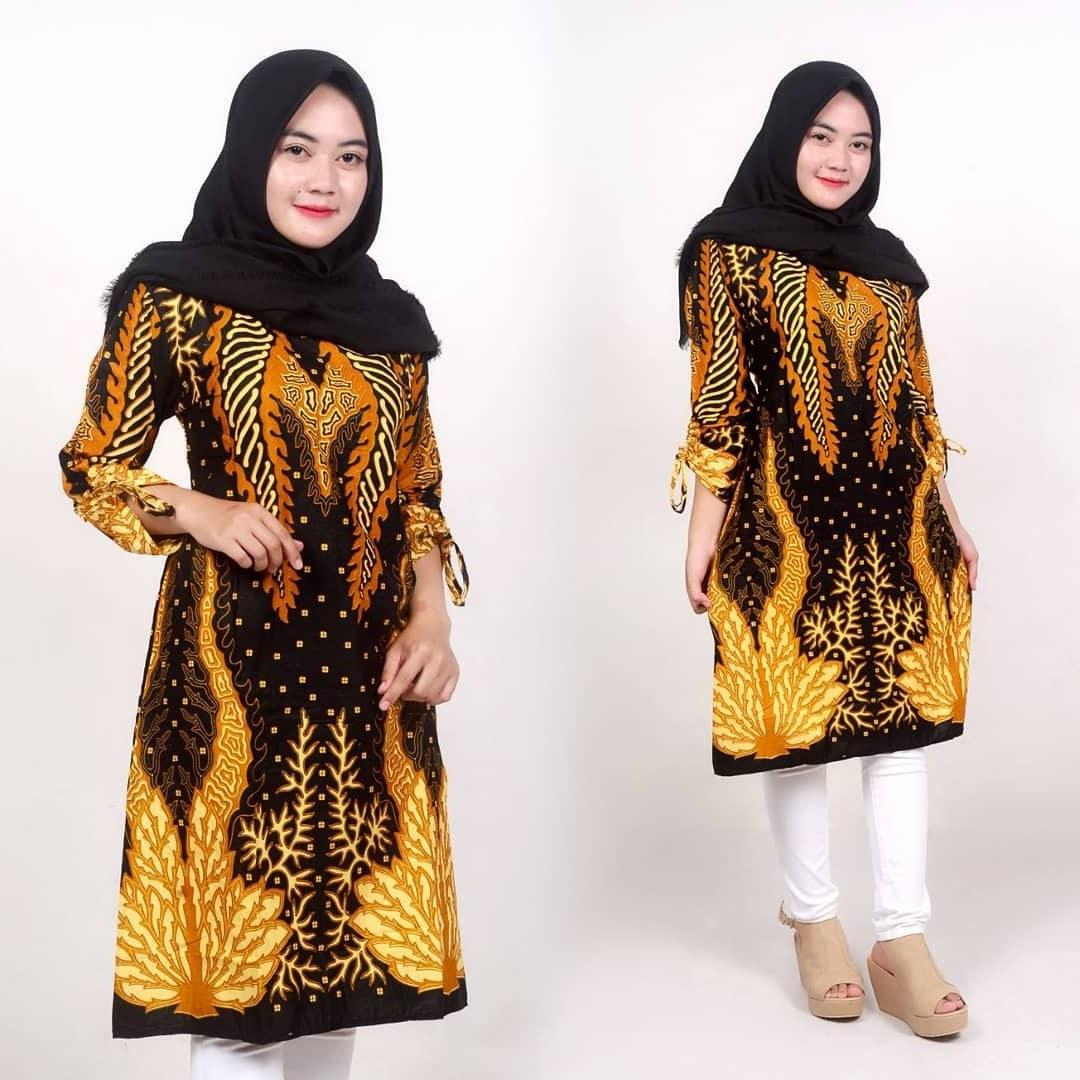 Ide Model Baju Lebaran atasan 2019 D0dg 52 Model Baju Batik Wanita Terbaru 2020 Modern & formal
