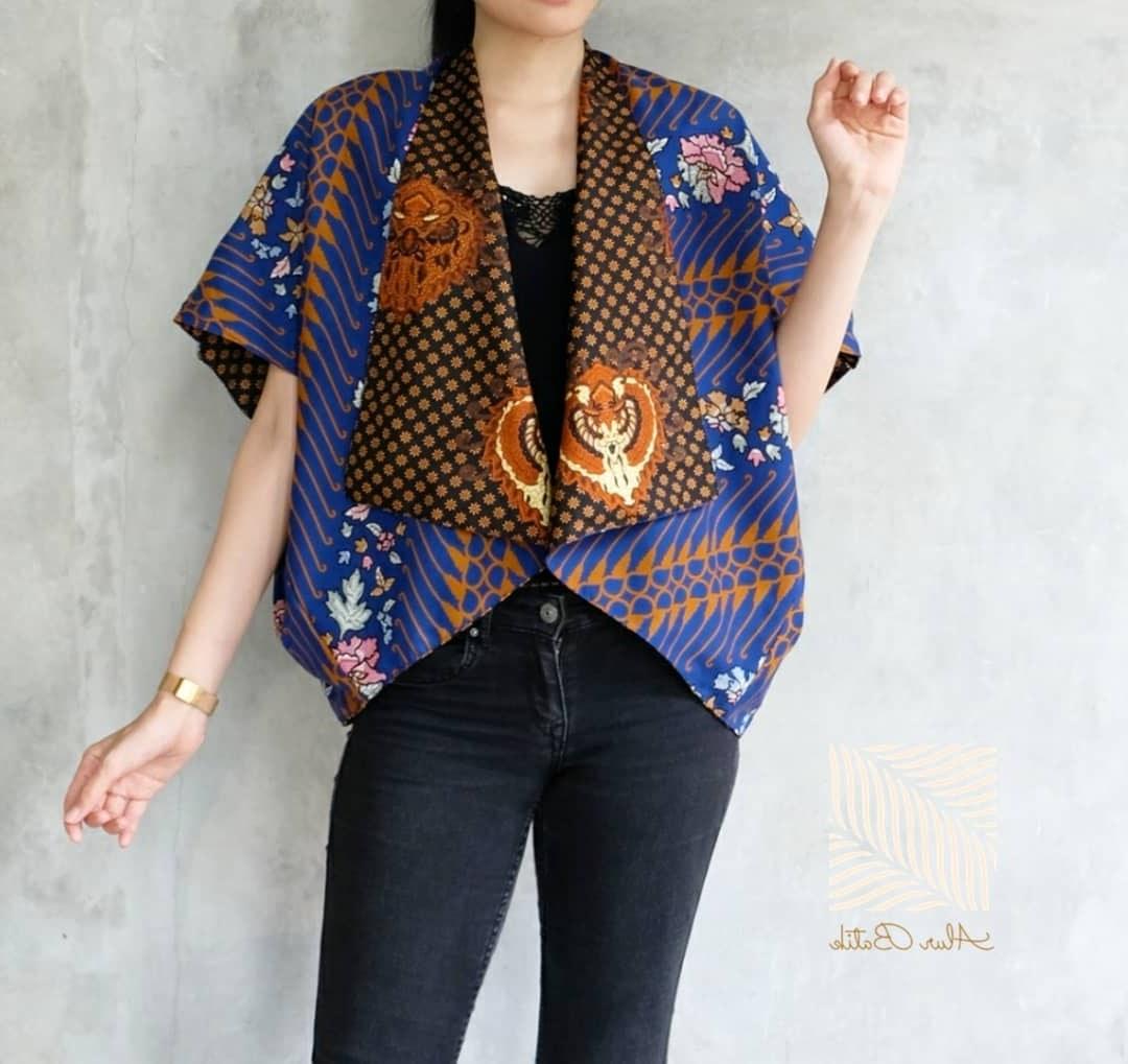 Ide Model Baju Lebaran atasan 2019 Nkde 48 Model Baju Batik atasan Wanita Terbaru 2019 Model