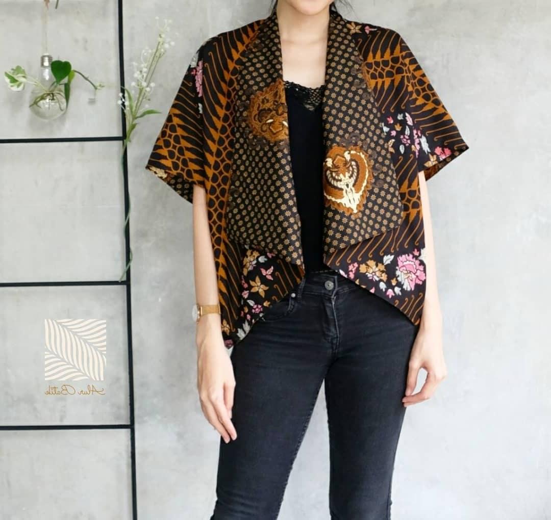Ide Model Baju Lebaran atasan 2019 X8d1 48 Model Baju Batik atasan Wanita Terbaru 2019 Model