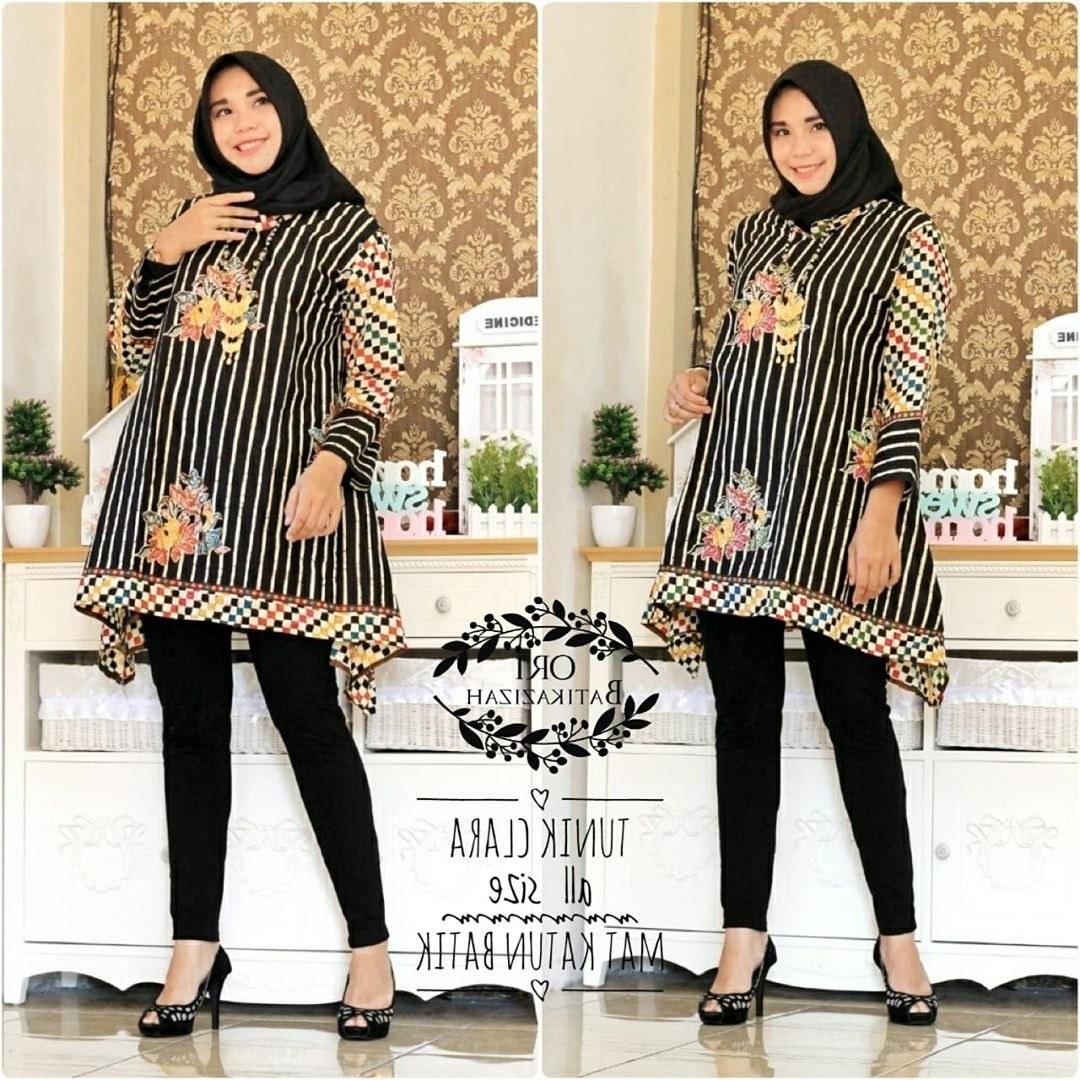 Ide Model Baju Lebaran atasan 2019 Y7du 48 Model Baju Batik atasan Wanita Terbaru 2019 Model