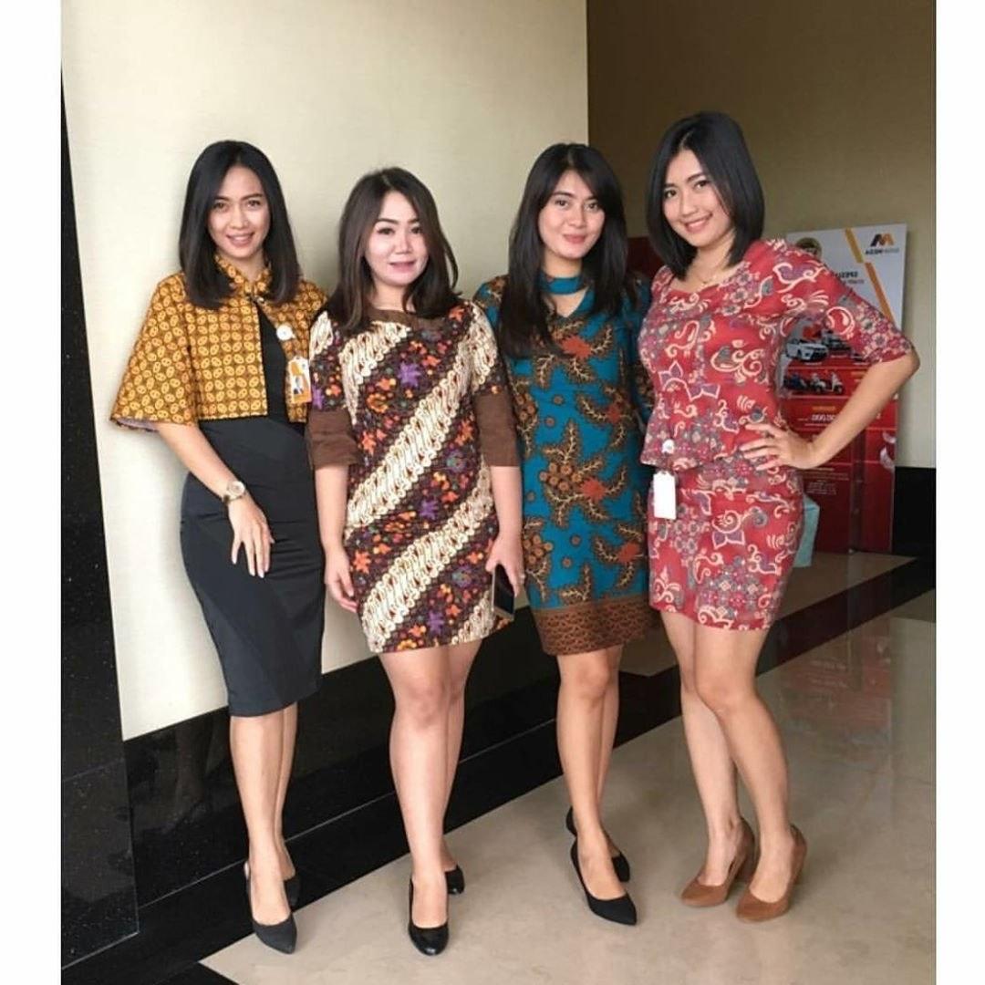 Ide Model Baju Lebaran atasan 2019 Zwdg 48 Model Baju Batik atasan Wanita Terbaru 2019 Model
