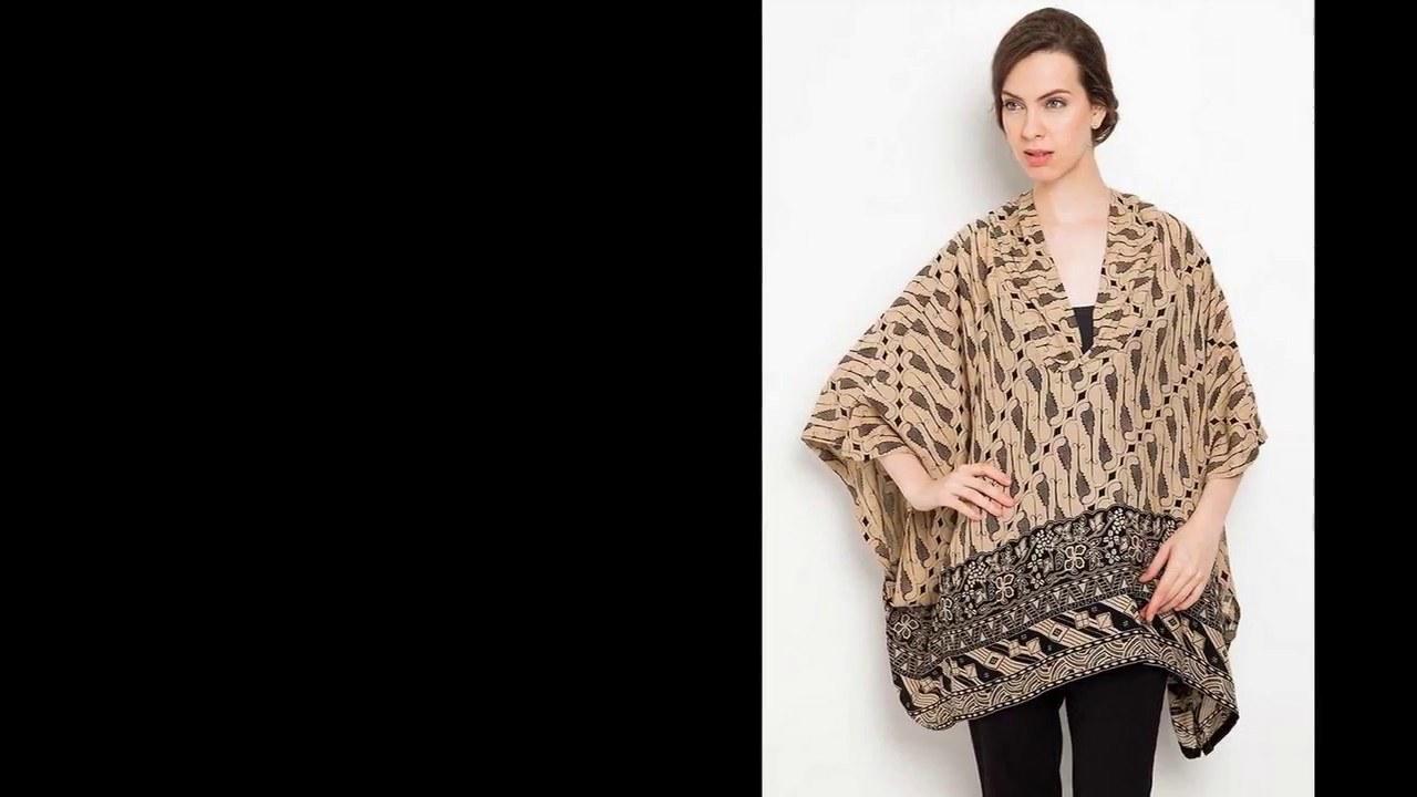 Ide Model Baju Lebaran Batik 2018 Kvdd Model Baju Batik atasan Wanita Terbaru 2018