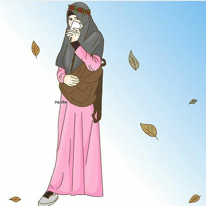 Ide Muslimah Bercadar Keren 8ydm Gambar Kartun Muslimah Modern Cari Gambar Keren Hd