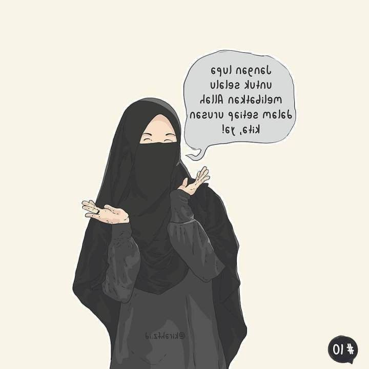 Ide Muslimah Bercadar Keren Kvdd 50 Gambar Kartun Muslimah Keren Cantik Dan Sedih — Dyp