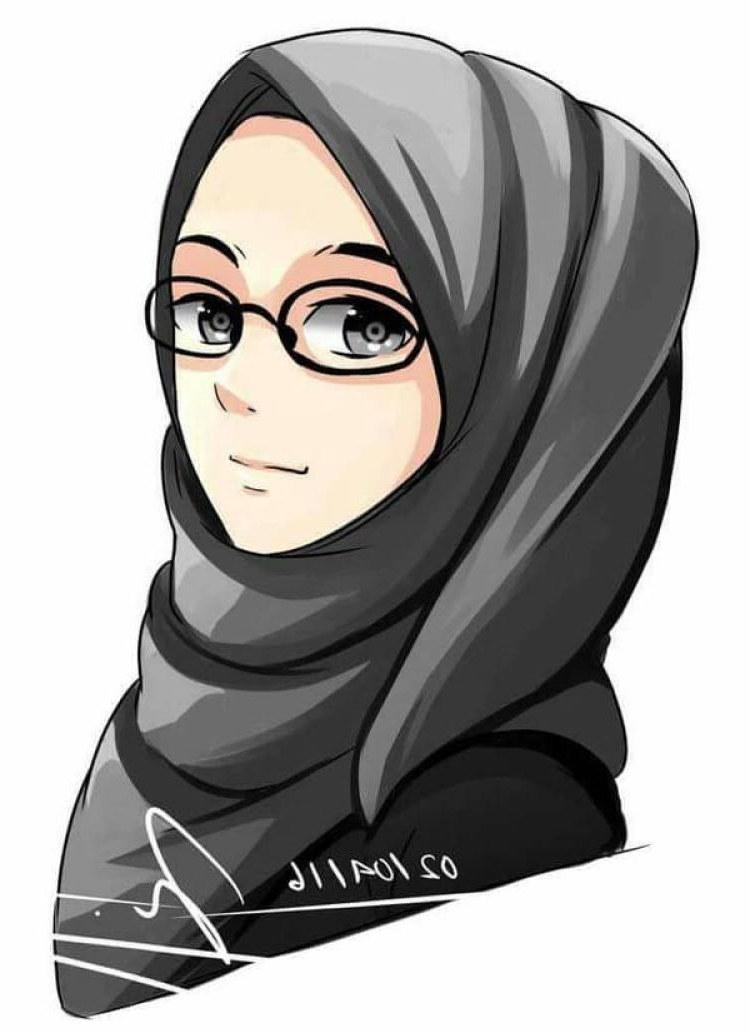 Ide Muslimah Bercadar Menangis 3id6 300 Gambar Kartun Muslimah Bercadar Cantik Sedih Keren