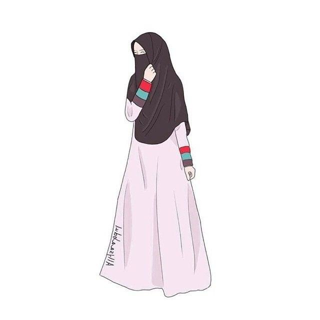 Ide Muslimah Bercadar Menangis Ipdd Gambar Kartun Muslimah Bercadar Berseri Seri Di 2020