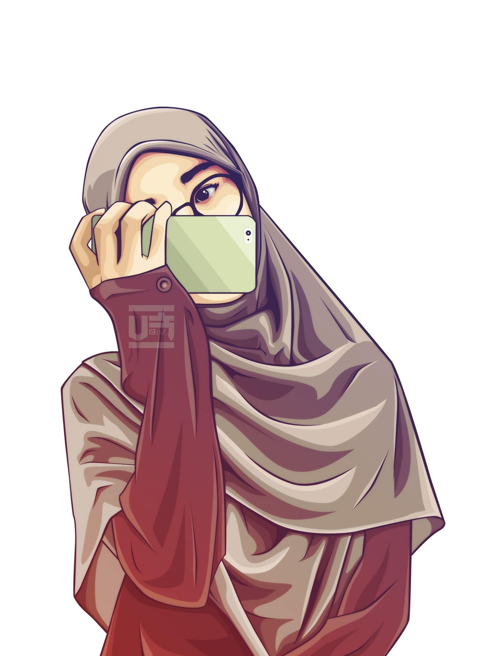 Ide Muslimah Kartun Keren J7do Gambar Kartun Anime Muslimah Gambar Kartun